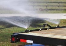 water sprayer trailer