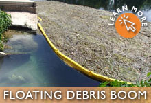 Floating Debris and Trash Boom
