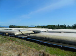 geotextile dewatering tubes