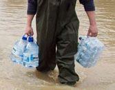 emergency supplies water storage