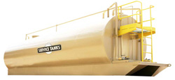 flow back frac tank