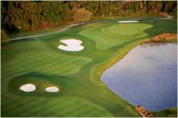 debris boom for golf course