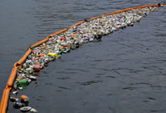 floating trash boom