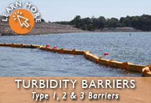 Turbidity Barriers Type 1,2,3
