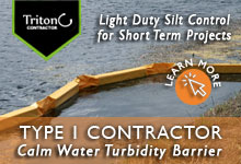Type 1 Contractor Turbidity Barrier
